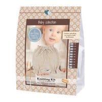 Go Handmade Knitting Crochet Kit Baby Bloomers - Off White